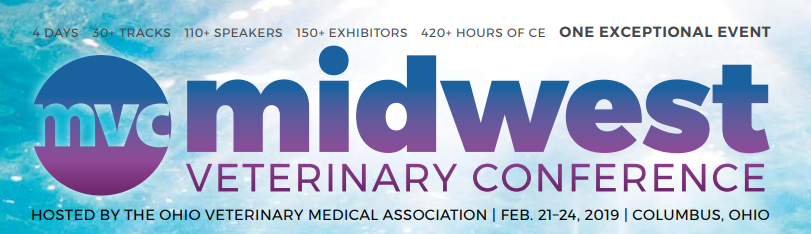 Midwest Veterinary Conference, Columbus, Ohio